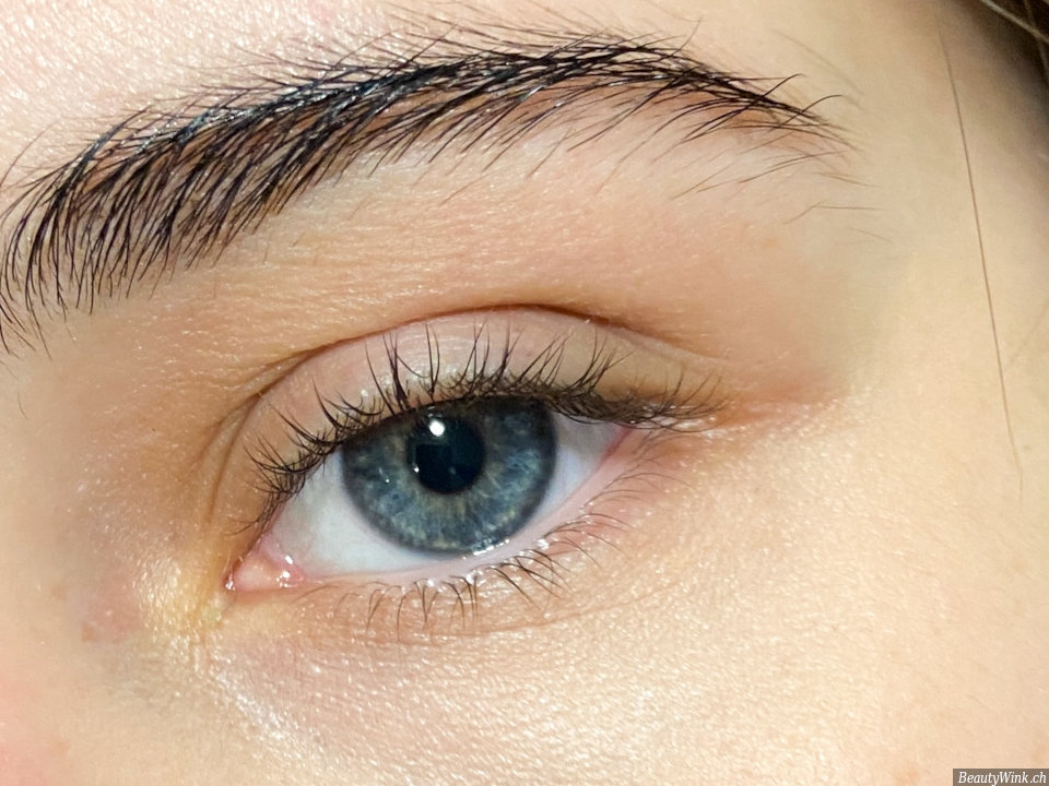 Wimpern vor der Anwendung Maybelline Lash Sensational Wimperntusche