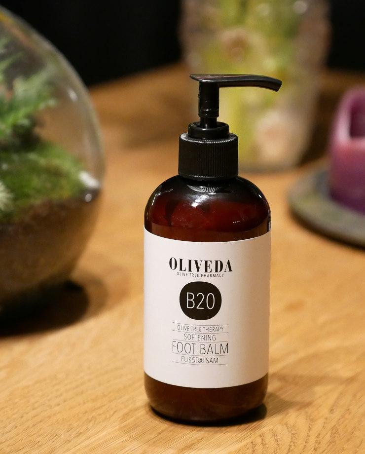 Meine Entdeckung des Frühlings: die vielfältige Fusspflege von B20 Oliveda Fussbalsam Softening