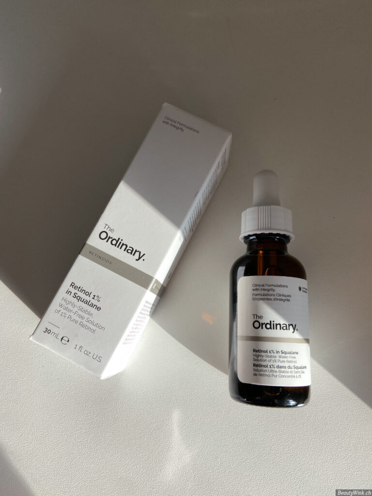 The Ordinary Retinol 1% in Squalane Verpackung