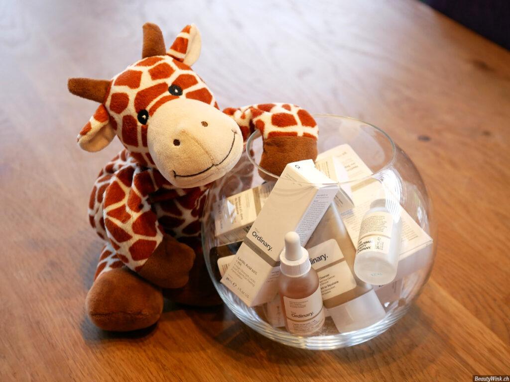 The Ordinary Produkte mit Giraffe