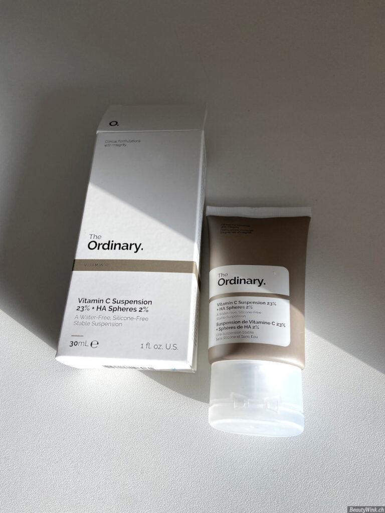 The Ordinary Vitamin C Suspension 23% + HA Spheres 2% Verpackung