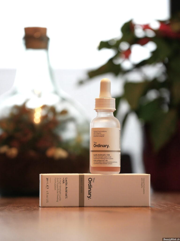 The Ordinary Lactic Acid 10% + HA Packung