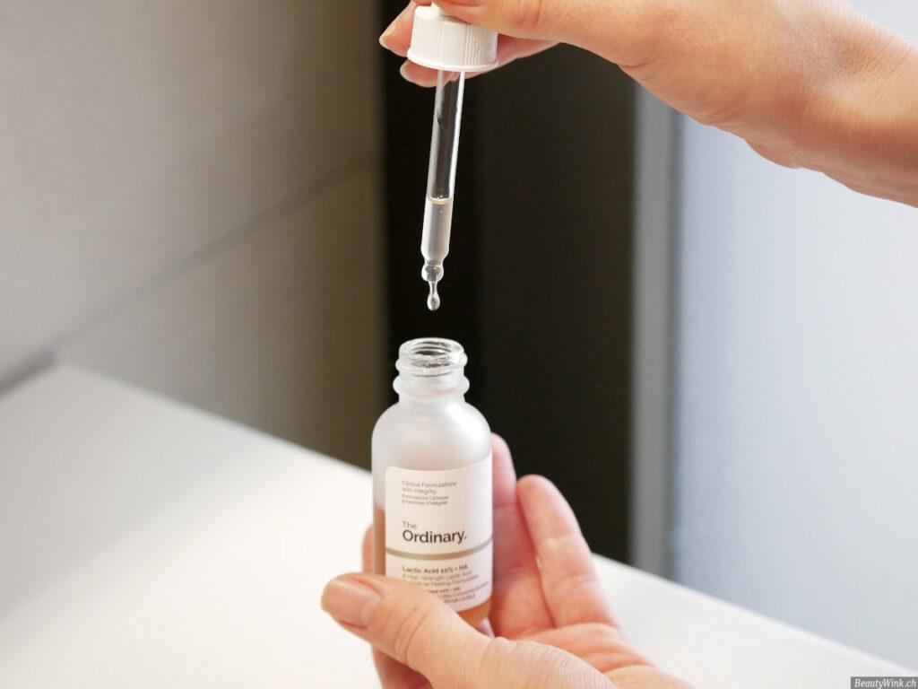 The Ordinary Direct Acids Lactic Acid 10% + HA 2% Konsistenz