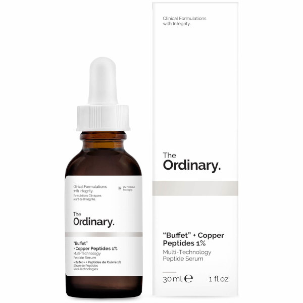 Ordinary Buffet + Copper Peptides 1%